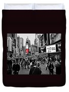 Times Square New York Toc Duvet Cover