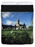 Timoleague Abbey, Co Cork, Ireland 13th Duvet Cover