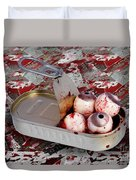 Tin Of Eyes Duvet Cover