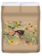 Tinted By Sunset Duvet Cover