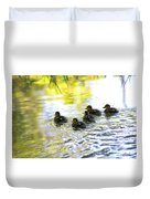 Tiny Baby Ducks Duvet Cover