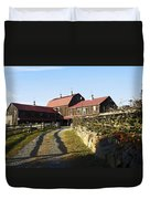 To The Barn Duvet Cover