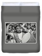 To The Beat Of The Drum Duvet Cover