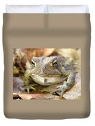 Toad Duvet Cover