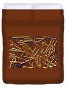 Tobacco Mosaic Virus Duvet Cover