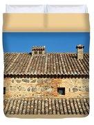 Toledo Terra Cotta Duvet Cover