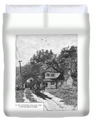 Toll Gate, 1879 Duvet Cover
