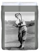 Tom Armour Wins Us Golf Title - C 1927 Duvet Cover