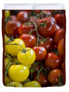 Tomatoes On The Vine Duvet Cover