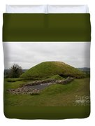 Tomb - Knowth - Ireland Duvet Cover