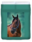 Tommy - Horse Painting Duvet Cover
