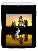 Amber Lake #3 Duvet Cover