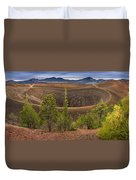 Top Of Cinder Cone Duvet Cover