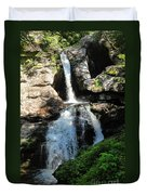 Top Of Kent Falls Duvet Cover
