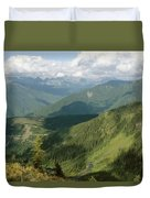 Top Of The World View Duvet Cover