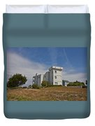 Topsail Island Observation Tower 1 Duvet Cover