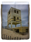 Topsail Island Observation Tower 6 Duvet Cover