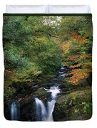 Torc Waterfall, Ireland,co Kerry Duvet Cover