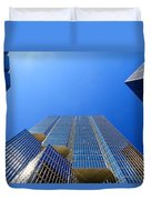 Toronto Financial Core Buildings Duvet Cover