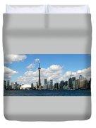 Toronto Skyline 10 Duvet Cover