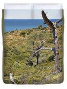 Torry Pines Sentinal Duvet Cover
