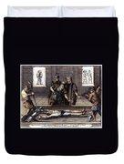 Torture, 16th Century Duvet Cover