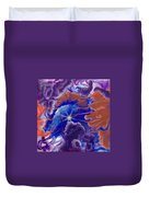 Touch Of Silence Duvet Cover