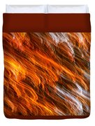 Touched By Fire Duvet Cover