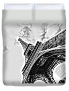 Tour Eiffel Duvet Cover