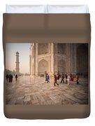 Touring Taj Duvet Cover