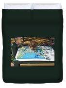 Tourist Bear Duvet Cover