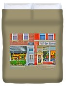 Tourist Hotel-downtown Perrysburg Duvet Cover