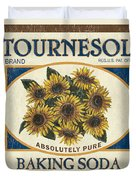 Tournesol Baking Soda Duvet Cover