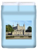 Tower And Traitors Gate Duvet Cover
