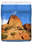 Tower In The Sky Duvet Cover