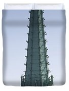 Tower Of Cathedral Duvet Cover