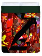 Tower Series 43 Firework Duvet Cover