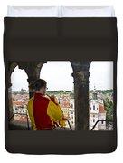 Tower Trumpeter - Prague Duvet Cover