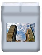 Towering Towers Duvet Cover