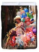 Toy Vender In San Jose Del Cabo Mexico Duvet Cover