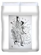 Traditional Dance - Central African Republic Duvet Cover