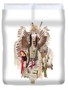 Traditional Pow-wow Dancer 1 Duvet Cover