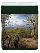 Trail At Cathedral Hills Duvet Cover