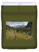 Trail Through Bear Country Duvet Cover