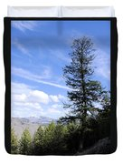 Trail Tree View Duvet Cover