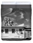 Trailer Town Bw Duvet Cover