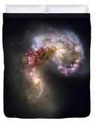 Trailing Streamers Of Gas And Stars Duvet Cover