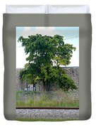 Train Tree Duvet Cover