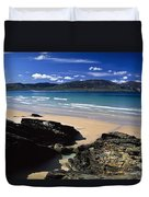 Tramore Strand And Loughros Mor Bay Duvet Cover