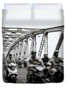 Trang Tien Bridge Hue Duvet Cover